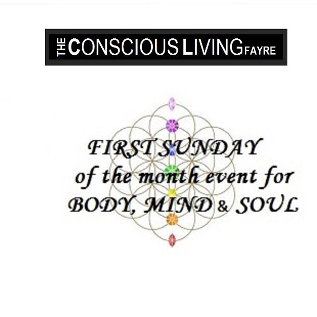 conscious living fayre logo