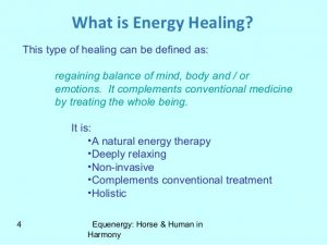 Definition of energy healing