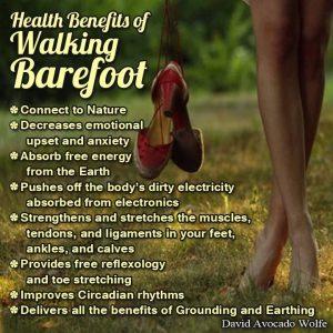 barefoot benefits