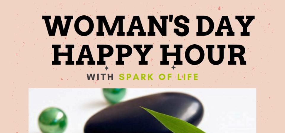 Womans Day Happy Hour